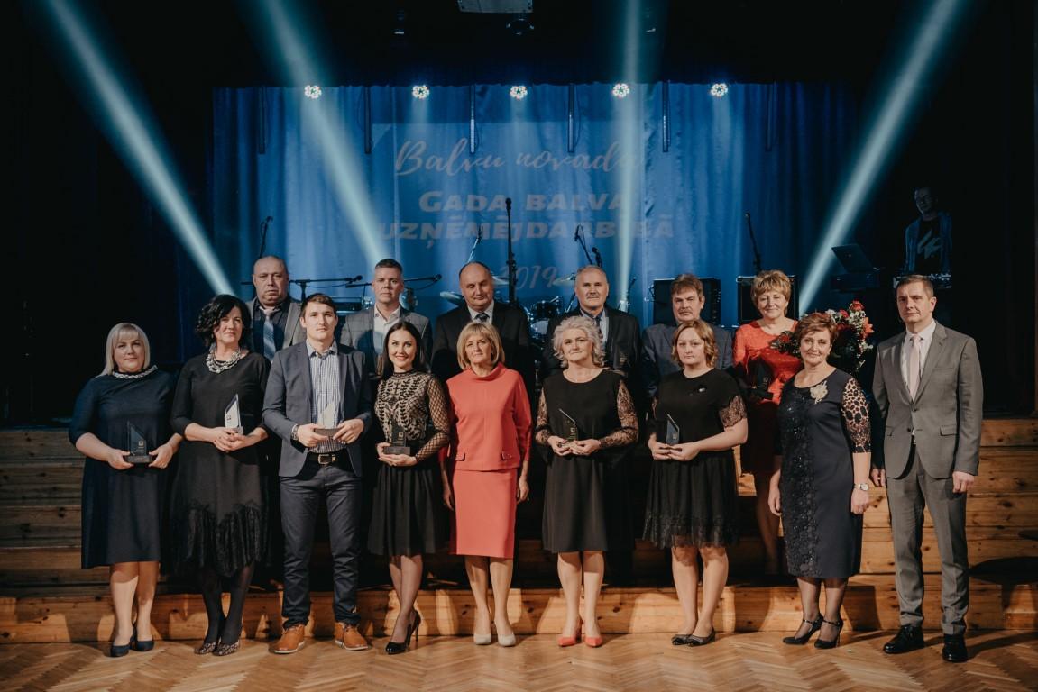 Balvu novada gada balva uzņēmējdarbībā 2019